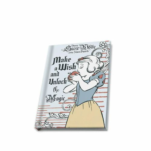 Disney Classic Snow White Seven Dwarfs A6 Notebook Note Pad
